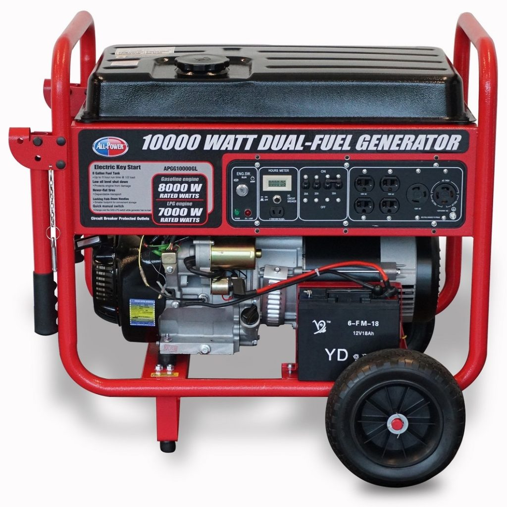 Jdna Generators Generator Circuit Breaker Manufacturers In The All Power 10000 Watt Dual Fuel Portable Is A Lightweight And With Durability Undeniable